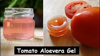 Use Tomato Aloevera Gel Daily on Face to Remove Dark Spots &amp Get Glowing Skin