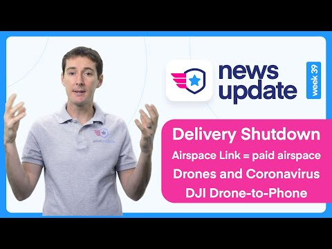 Drone News: Yale Drone Delivery Shut Down, Airspace Link Wants You To Pay For Airspace, DJI And More