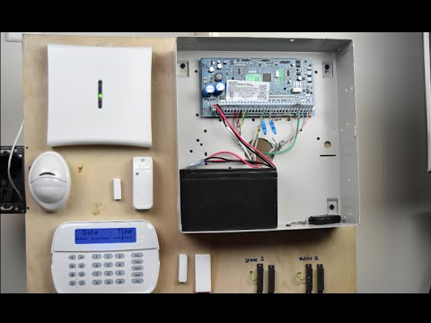 110 Wiring Diagram Dsc Neo Installation Step By Step Youtube