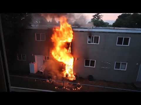 House Fire Kamloops North Shore Townhouse