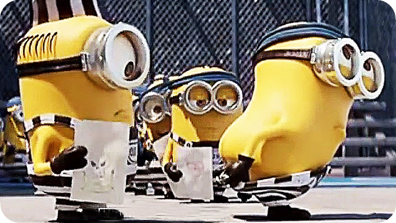 DESPICABLE ME 3 Minions Prison Trailer (2017)