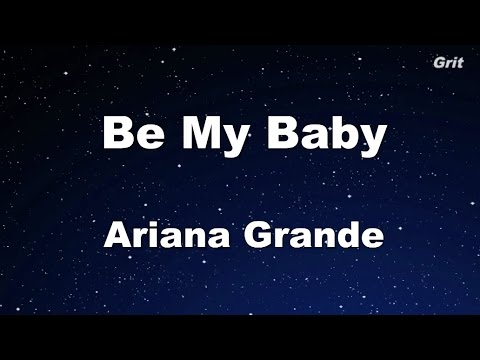 Be My Baby - Ariana Grande Karaoke【With Guide Melody】