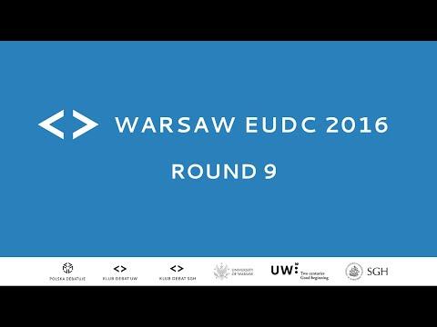 Warsaw EUDC 2016 - Round 9 [Channel 2]
