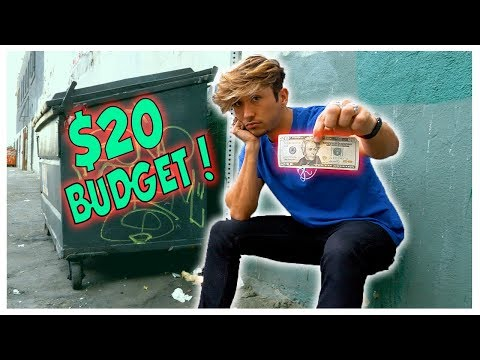 Living on ONLY $20 Dollars in Los Angeles !!