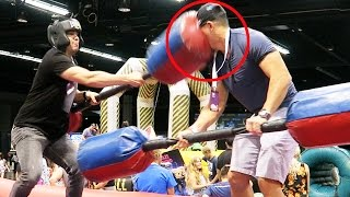 I KNOCKED HIM OUT!!! (Vidcon 2016 Day 2)