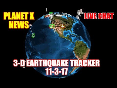 PLANET X NEWS - NEW PLANET X PHOTOS & 3-D EARTHQUAKE TRACKER 11-3-17