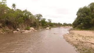 The Manyeleti River flows again!