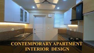 Contemporary Apartment Interior Design at Kochi