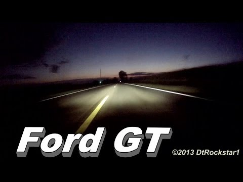 RIDE: Ford GT Wide Open Throttle Accelerations!