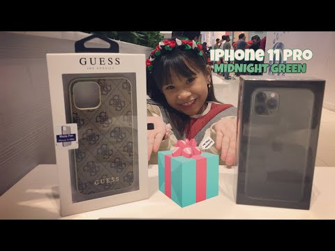 UNBOXING My IPHONE 11 Pro MIDNIGHT GREEN   Rianne Sep