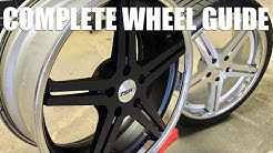 Complete Guide for Wheels