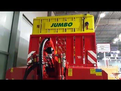видео: Пресс-подборщик jumbo 10010 l combiline