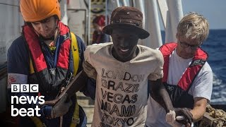 Refugee rescue ship | BBC Newsbeat