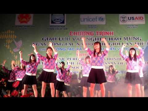 K62b nhảy dân vũ Vũ điệu rửa tay - Macarena - Gummy bear