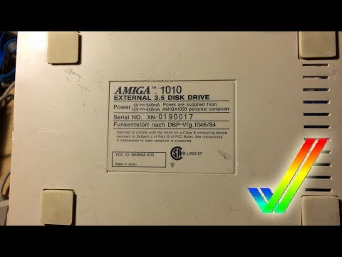 Amiga Internal Disk Drive in External A1010 Case