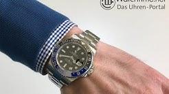 Wie stellt man die Rolex GMT-Master II ein?