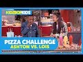 Download The Pizza Challenge With Ashton & Lois From The KIDZ BOP Kids MP3 song and Music Video