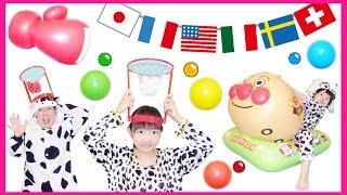 ★わんちゃんごっこ!「動物たちの大運動会~!」★Dog's Sports day★