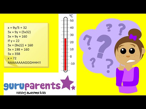 Celsius to Fahrenheit – teach kids how easy it is