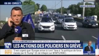 ACTION ALLIANCE : LES POLICIERS EN OPÉRATIONS ESCARGOT POUR DÉFENDRE LEUR RÉGIME SPÉCIAL