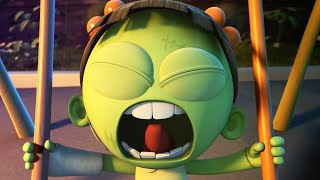 Funny Animated Cartoon | Spookiz Brand New Scary Swing Jump ...