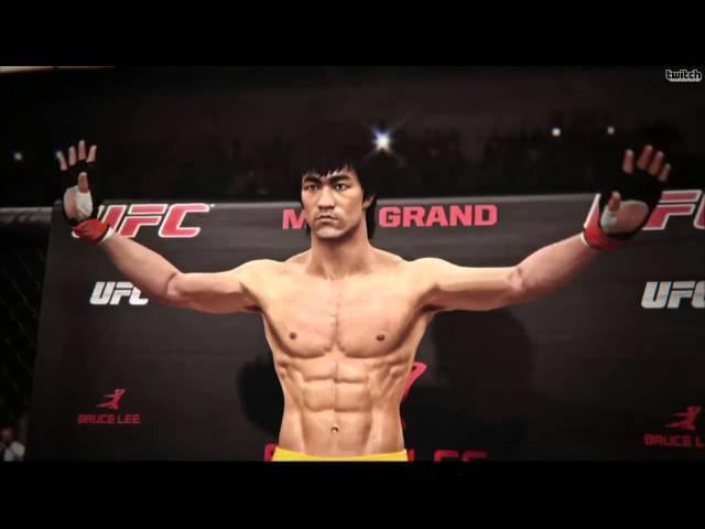 EA Sports UFC - Bruce Lee E3 2014 Trailer HD