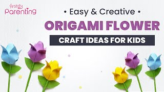 Creative and Fun Origami Flower Craft Ideas for Kids