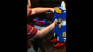 LEGO Project Voltes V Volt In Sequence