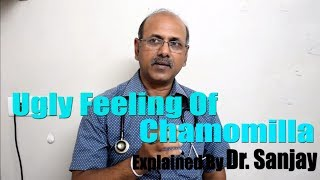 Ugly feeling of Chamomilla Explained Dr. Sanjay [HINDI]