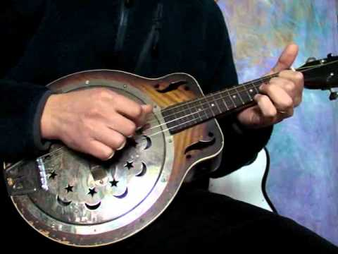 1940 national dobro resonator tenor guitar mandolin demo youtube. Black Bedroom Furniture Sets. Home Design Ideas