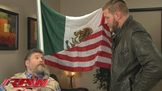 Jack Swagger confronts Zeb Colter: Raw, November 2, 2015