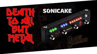 $100 Metal Monster? - Sonicake  Black Hammer (unboxing & play)