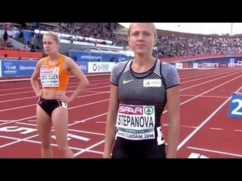Информатор WADA Степанова не добежала до финиша на чемпионате Европы