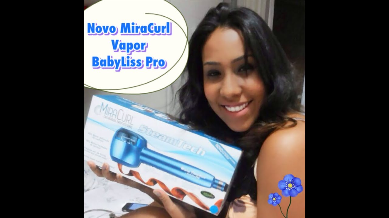 29ba5dbaa Miracurl VAPOR Steam Tech Babyliss - YouTube