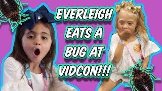 EVERLEIGH SURPRISES AVA AT VIDCON... (YOU WON'T BELIEVE IT!)
