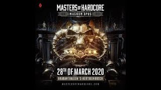 Masters of Hardcore 2020 - Magnum Opus (25 years) - WarmUp mix by SoundWave