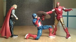 Avengers: Free For All - Part 1 (Stop Motion)