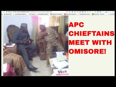 OSUN ELECTION: APC CHIEFTAINS STORM OMISOREs COMPOUND
