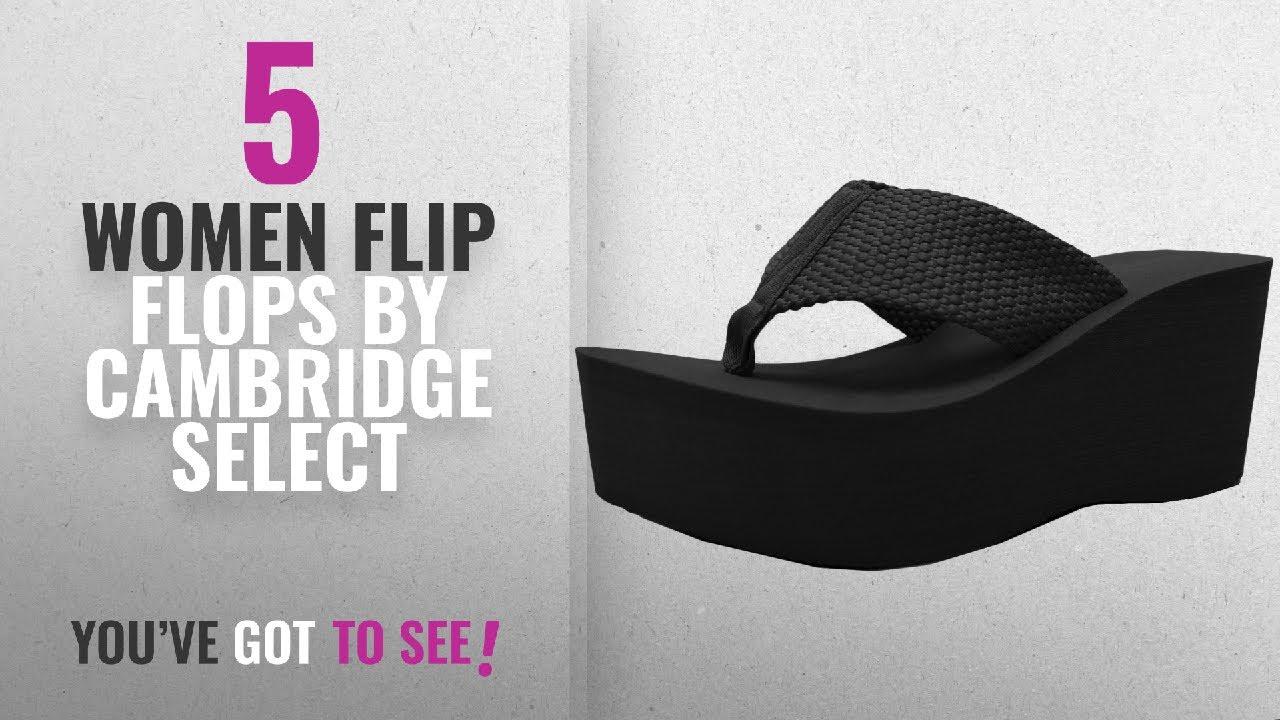 98c21c5428e Top 5 Cambridge Select Women Flip Flops  2018   Cambridge Select Women s  Comfy Platform ...