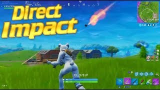 Obtenir Hit 'DIRECT IMPACT' par un METEOR! (Fortnite Battle Royale)