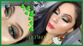 PROBANDO NUEVOS PRODUCTOS DE O.TWO.O ALIEXPRESS MAQUILLAJE MARRON