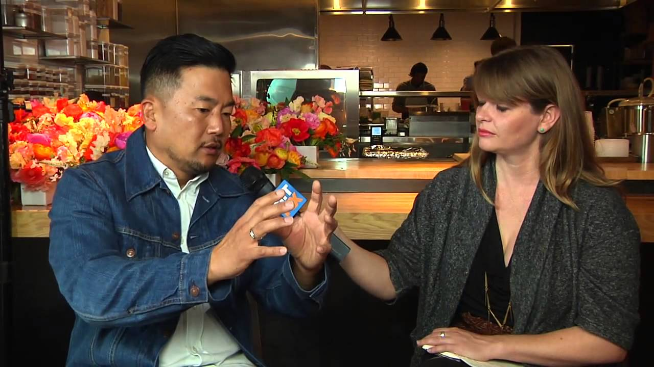 Roy Choi talks coaching Jon Favreau on the culinary arts for Chef ...