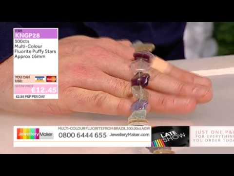 Amazonite on The Late Show with Ed McKay (JewelleryMaker) LIVE 25/11/2014