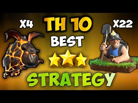 IMMORTAL QUEEN LAVALOON + MASS MINERS | Th10 BEST NEW META ATTACK STRATEGIES | Clash Of Clans