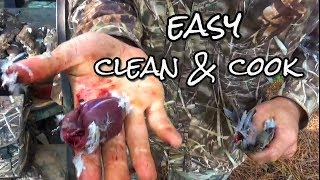 SIMPLE Kill Clean & Cook Dove Poppers