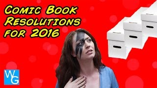 Comic Book Resolutions for 2016