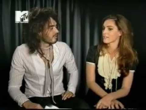 Russell Brand talks to Kelly Brook, 2006