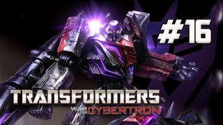 Transformers War for Cybertron Walkthrough - Part 16 [Chapter 4] Power Conduit Let's Play