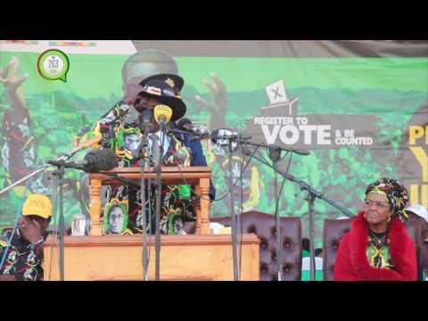 I am not going, I am not dying - Mugabe at Chinhoyi Zanu-PF Youth Interface #263Chat