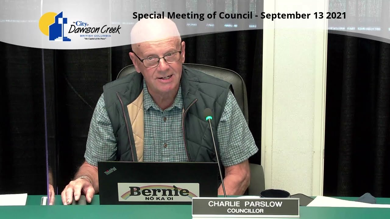 Special Meeting of Council - September 13, 2021 HD (720p)